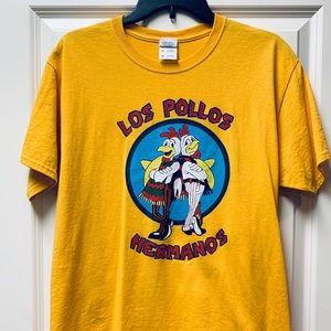 Breaking Bad Los Pollos Hermanos tshirt Medium